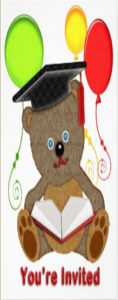 Printable Graduation Bear