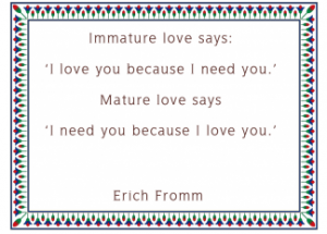 free printable Erich Fromm love quotes